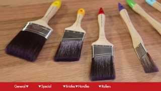How To Choose Paint Brushes & Rollers - DIY At Bunnings