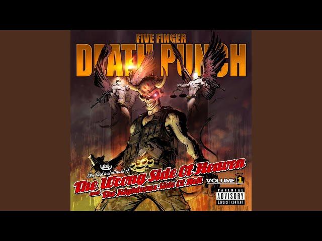 lyrics five finger death punch