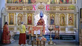 Божественная литургия 13 мая 2020 г., г. Екатеринбург, храм Рождества Христова
