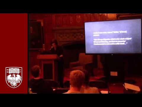 "Marty Center Senior Fellow Symposium by Bettina Bergo on ""The Ambiguity of Anxiety"""