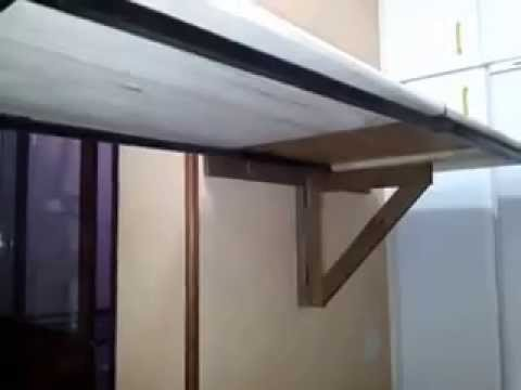 Extender mesa plegable de Ikea - YouTube