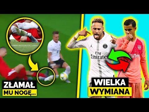 PECH młodego piłkarza! FATALNA KONTUZJA! Neymar ZAMIENI się z Coutinho?