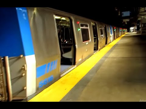 Path train, from New Jersey - Newark Penn Station, to New York City - WTC Station