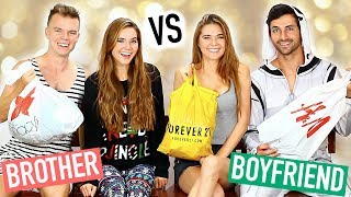 BOYFRIEND VS BROTHER - Shopping Challenge (Holiday Edition)