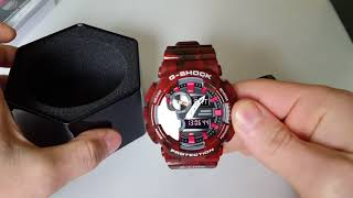 Огляд і параметри Casio G-Shock GAX 100MB 4AER (Review and setting)