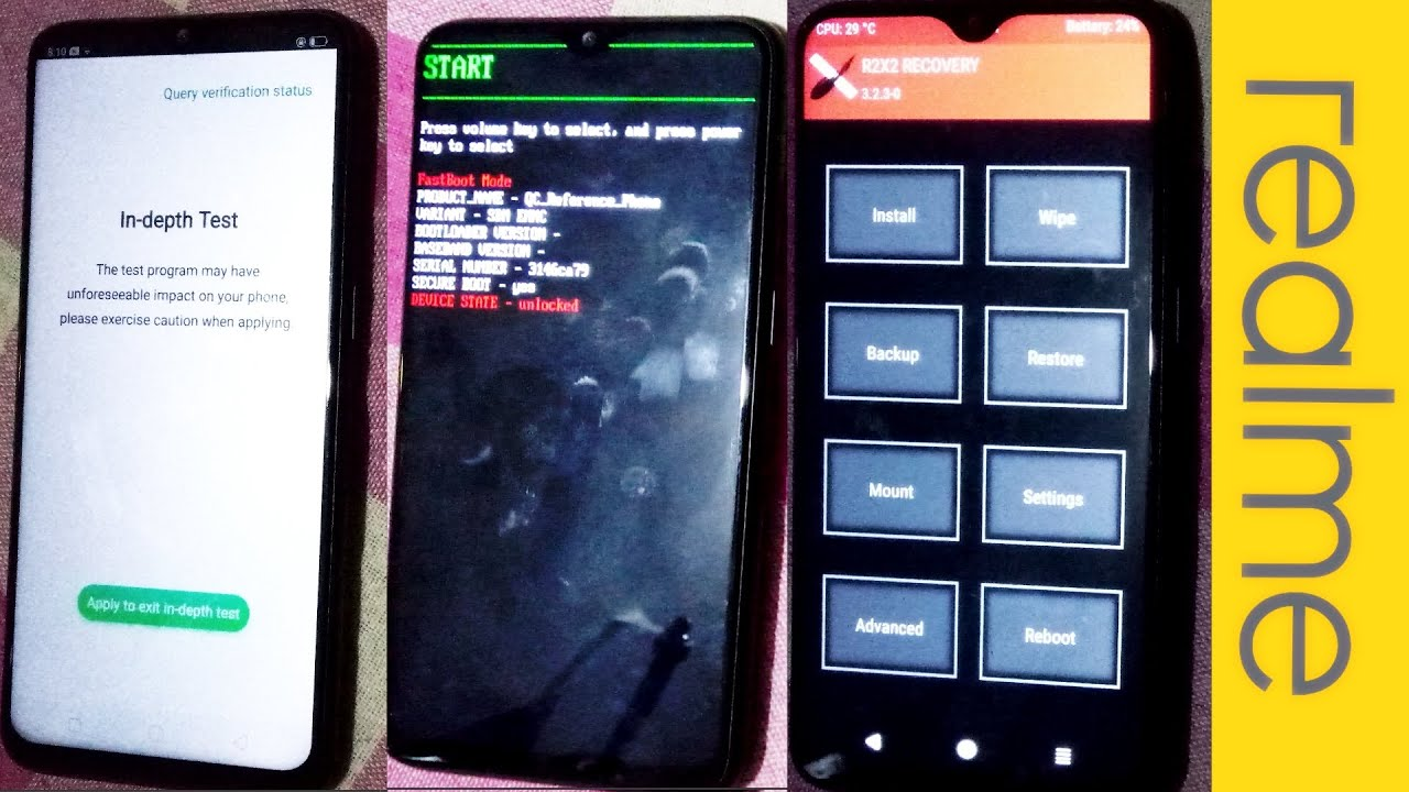 Stable] Realme 2 pro TWRP recovery [UPDATED… | Realme 2 pro