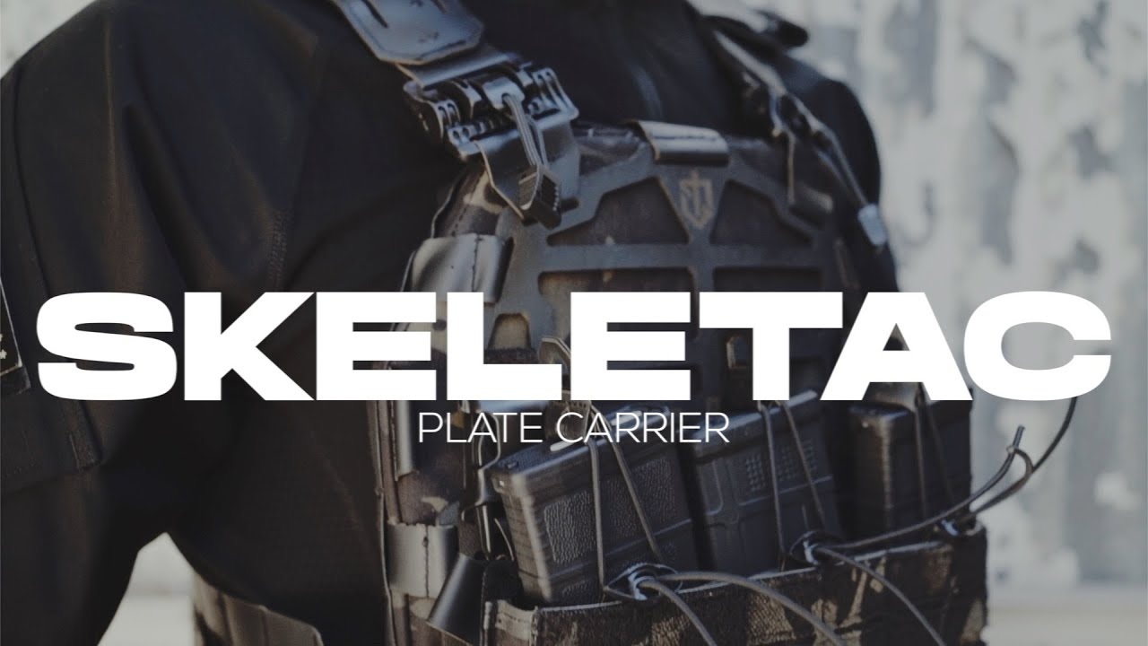 SKELETAC PLATE CARRIER 2 x LEVEL 3A ARMOR