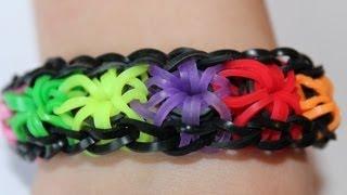 Rainbow loom, Nederlands, Starburst bracelet, Armband,  HD