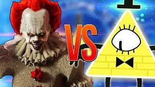 БИЛЛ ШИФР VS ПЕННИВАЙЗ ОНО | СУПЕР РЭП БИТВА | Bill Cipher Gravity Falls ПРОТИВ Pennywise IT