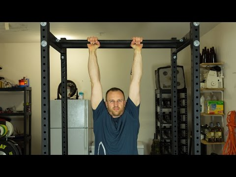 Hanging For Shoulder Health and Strength