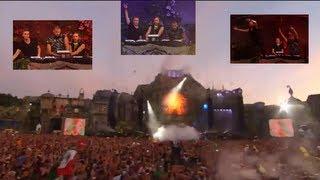 Video Afrojack, Nicky Romero, David Guetta - Showtek 'Booyah' (All down @ Tomorrowland 2013) download MP3, MP4, WEBM, AVI, FLV April 2018