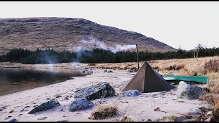 Solo Wilderness Hot Tent Camp