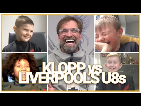 Klopp quizzed by Liverpool's U8s | Best outfield goalie, worst dancer & favourite player