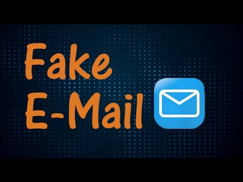 How To Get A Fake Email Address