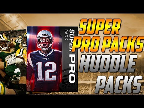 MILLION COIN PULL!-SUPER PRO PACKS AND HUDDLE PACKS!-Madden Mobile 18