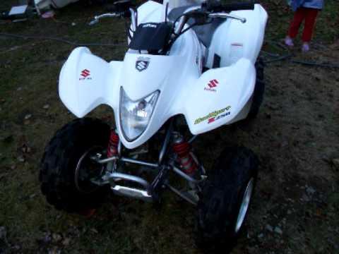My 2004 Suzuki Quadsport Z250 Youtube