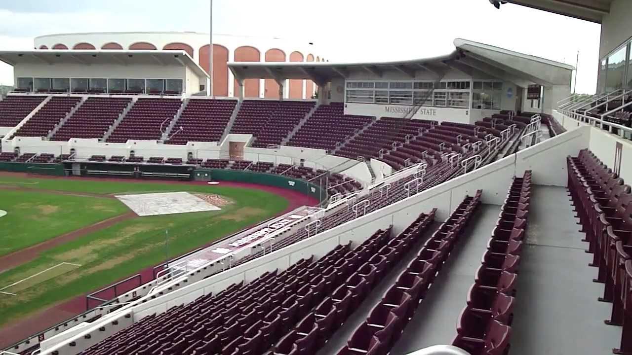 mississippi state baseball stadium youtube