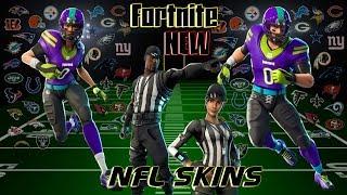 FORTNITE New NFL Skins! Venez jouer avec Rainbow! Joueur féminin PS4!