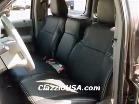 Clazzio Ford F150 2005 2008 Leather Seat Covers Youtube