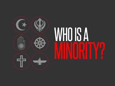 Who is a minority in India