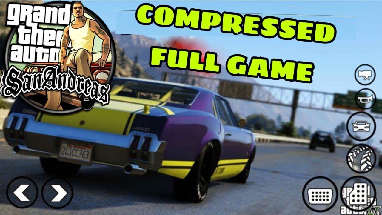 free download gta san andreas highly compressed for android