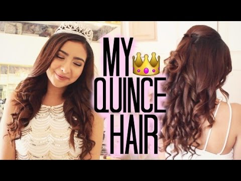Quincea 241 Era Hairstyle Tutorial 2 Youtube