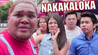 50 PESOS FOOD TOUR CHALLENGE (w/ Empoy, Michelle Dy, Kimpoy & Baninay)