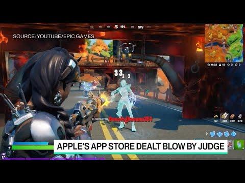 Apple's App Store Dealt Blow By Judge