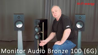 Monitor Audio Bronze 100 6G. Video review and audio test. English subtitles.