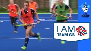 Team GB's Hockey teams step up their training in preperation for the Olympics