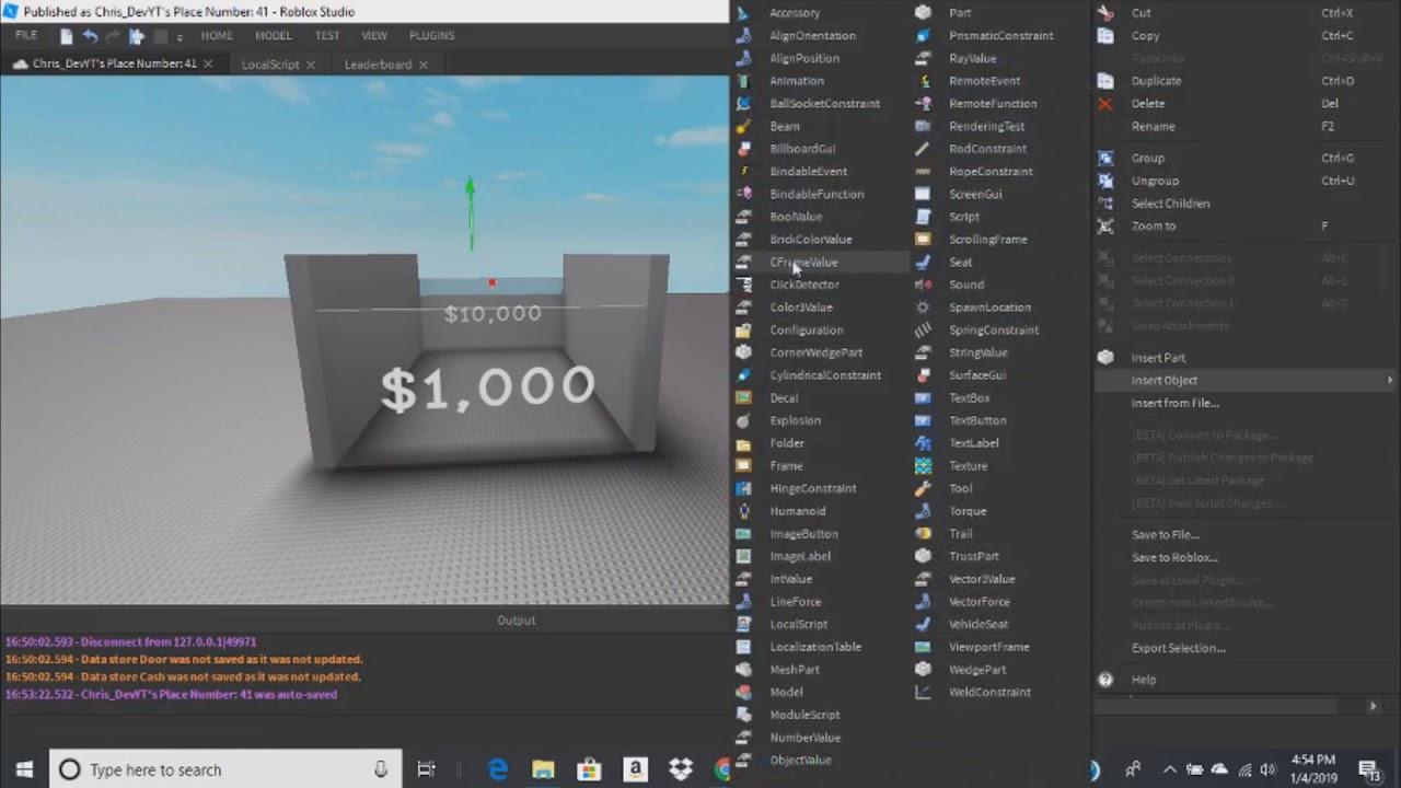 Roblox How To Make Pet Simulator Area Shop Door Saving Youtube