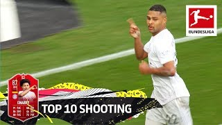 Top 10 Shooting - Lewandowski, Haaland, Werner & More | EA SPORTS FIFA 20