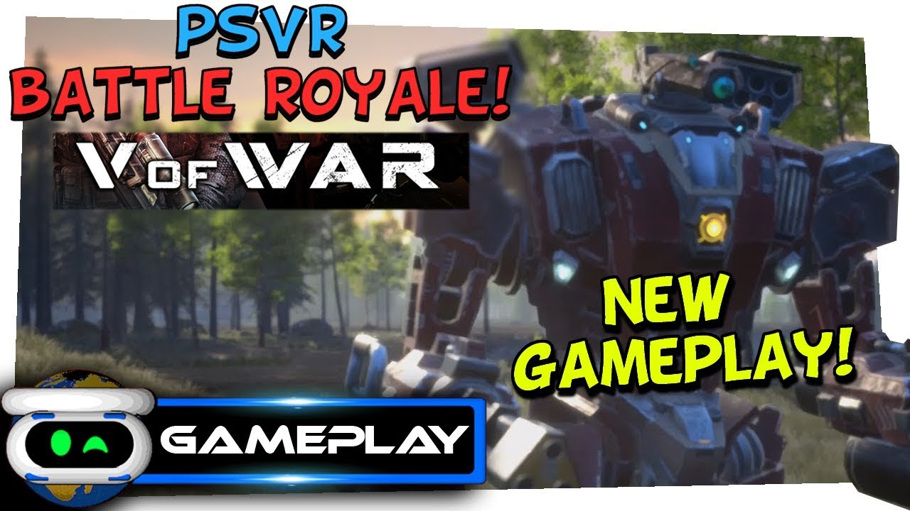 V of War Battle Royale New Gameplay!