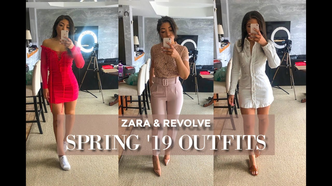 ZARA & REVOLVE SPRING CLOTHING HAUL + LOOKBOOK   6 Spring Outfits of the Week 9