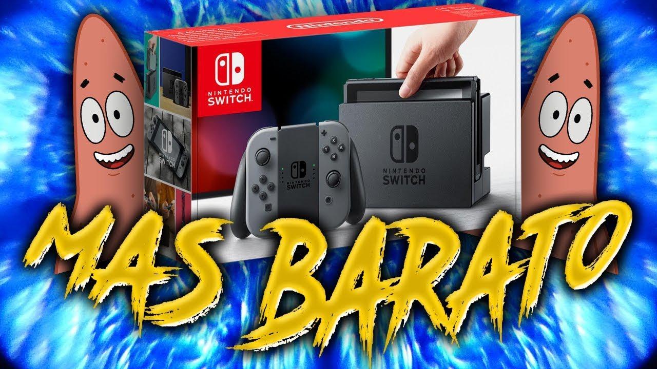 Donde Comprar La Nintendo Switch Mas Barata Youtube