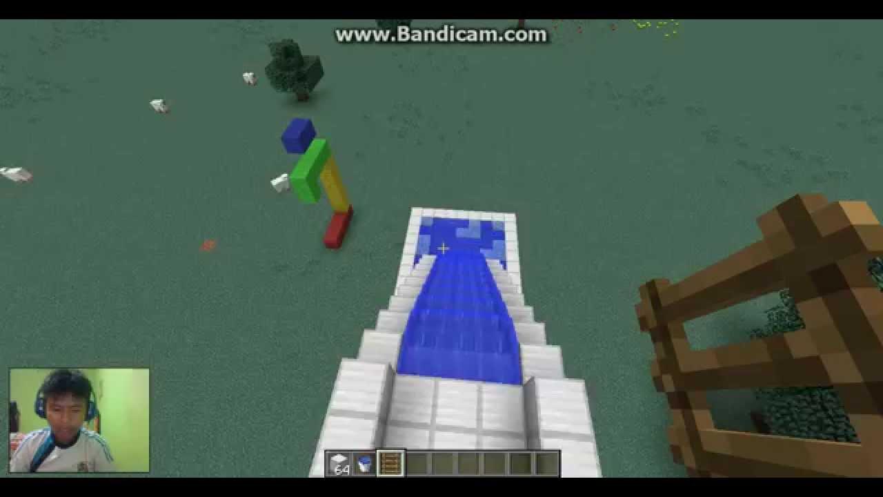 103 Gambar Desain Kolam Renang Minecraft Gratis