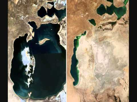 Once-vast Aral Sea dries up to almost nothing | 3 October 2014