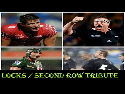 "Rugby Tribute : Locks/Second Row "" Giants among humans"" Rugby Highlights "" Big hits e Runs"""
