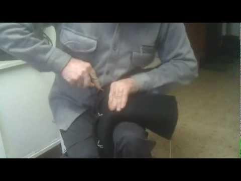 Как подшивают валенки.mp4