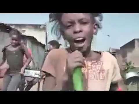 Ghetto kids From Africa  (Creative Music Video)