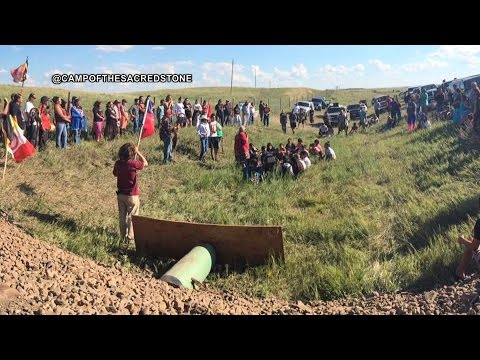 "Standing Rock Sioux Chairman: Dakota Access Pipeline ""Is Threatening the Lives of My Tribe"""