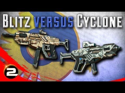 Blitz versus Cyclone [NC] Review/Comparison - PlanetSide 2