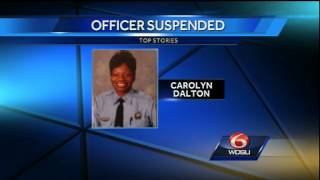 Officer suspended, accused of malfeasance