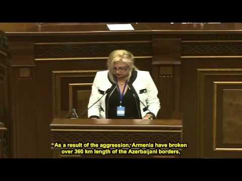 Аурелия Григориу   Аурелия Григориу в армянском Парламенте Eng  Subtitles) Aurelia Grigoriu