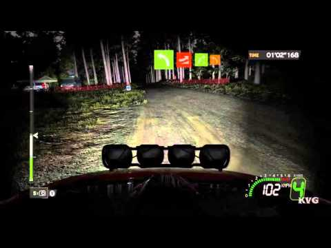 WRC 5 FIA World Rally Championship - Night Gameplay (PC HD) [1080p60FPS]