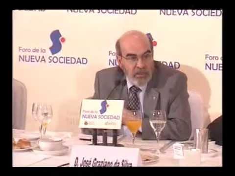 Foro de la Nueva Sociedad con José Graziano da Silva