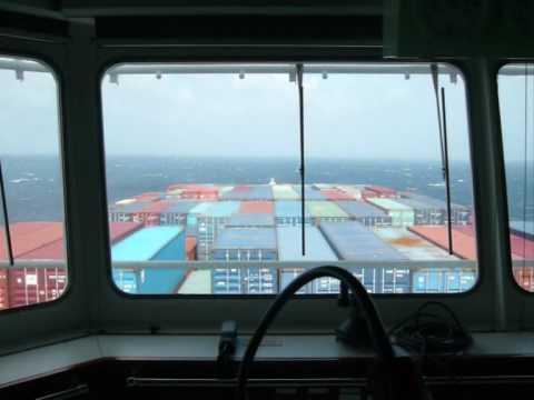 Embarquement sur un porte conteneur vers la chine youtube for Porte conteneur