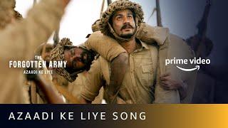 Azaadi Ke Liye Video Song | Pritam | Arijit Singh, Tushar Joshi  | Amazon Prime Video