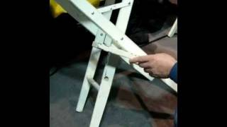 How To Repair Captain's Wooden Chair With Black Bull Adhesive.