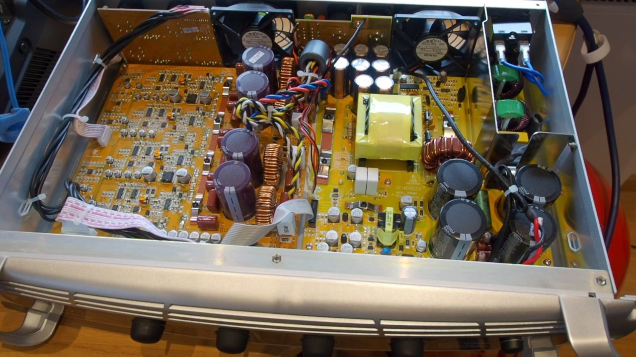 behringer inuke nu4 6000 power amplifier review